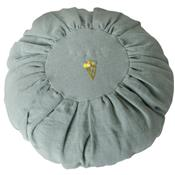 Round Cushion - Dusty Blue