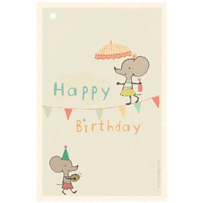 Mini Carte Birthday Linedancer