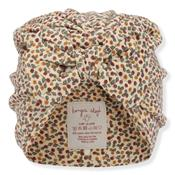 Bonnet Turban Coton Bio - Rosaraie Red