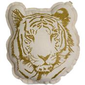 Embroidered cushion - tiger