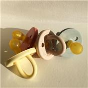 Natural Rubber Pacifier cherry - blush