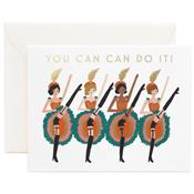 Carte message - You can can do it