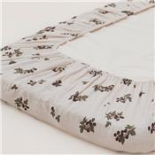 Drap housse junior mousseline - Blackberry