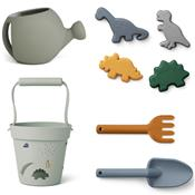 Set de jardinage et de plage - Dino Blue mix