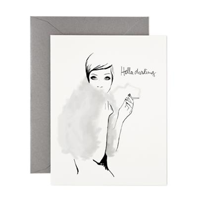 Carte Garance Doré - Hello darling