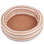 Piscine gonflable Léonore - Stripe Tuscany Rose